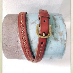 Ralph Lauren Brown Leather Women's Belt
